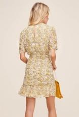 Astr Lucky Me Floral Dress
