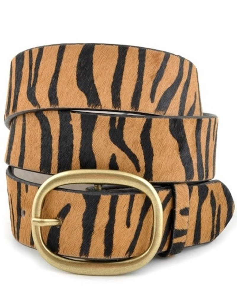Tiger Stripe Belt