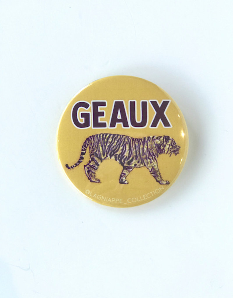 Geaux Tiger Button