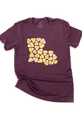 Louisiana Candy Corn Tee