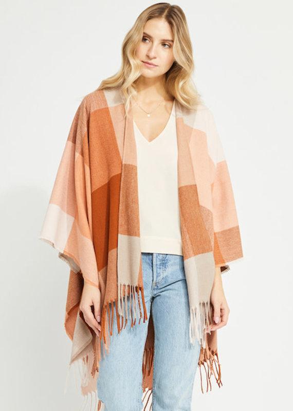 Gentle Fawn Cinnamon Check Holden Kimono