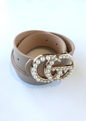 GO Pearl Buckle Belt