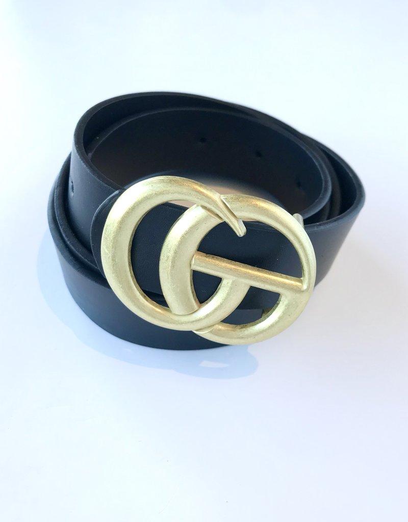 Thin GO Matte Buckle Belt