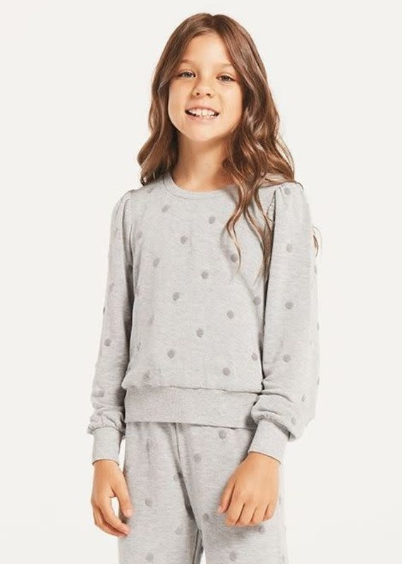 Z Supply Girls Zoe Dot Top