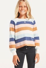 Z Supply Girls Reagan Stripe Top