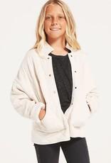 Z Supply Girls Maya Quilted Jacket