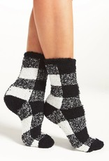 Z Supply Check Plush Socks