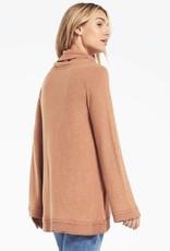 Z Supply Ali Cowl Sweater Slub Pullover