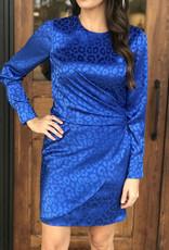 Adelyn Rae Isabella Draped Mini Dress