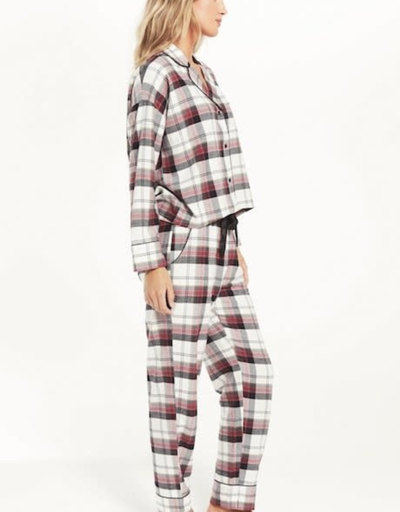 Z Supply Dream State Plaid PJ Set