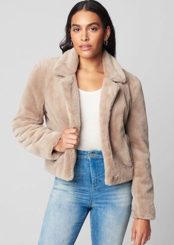 Blank NYC Frozen Daquiri Faux Fur Coat