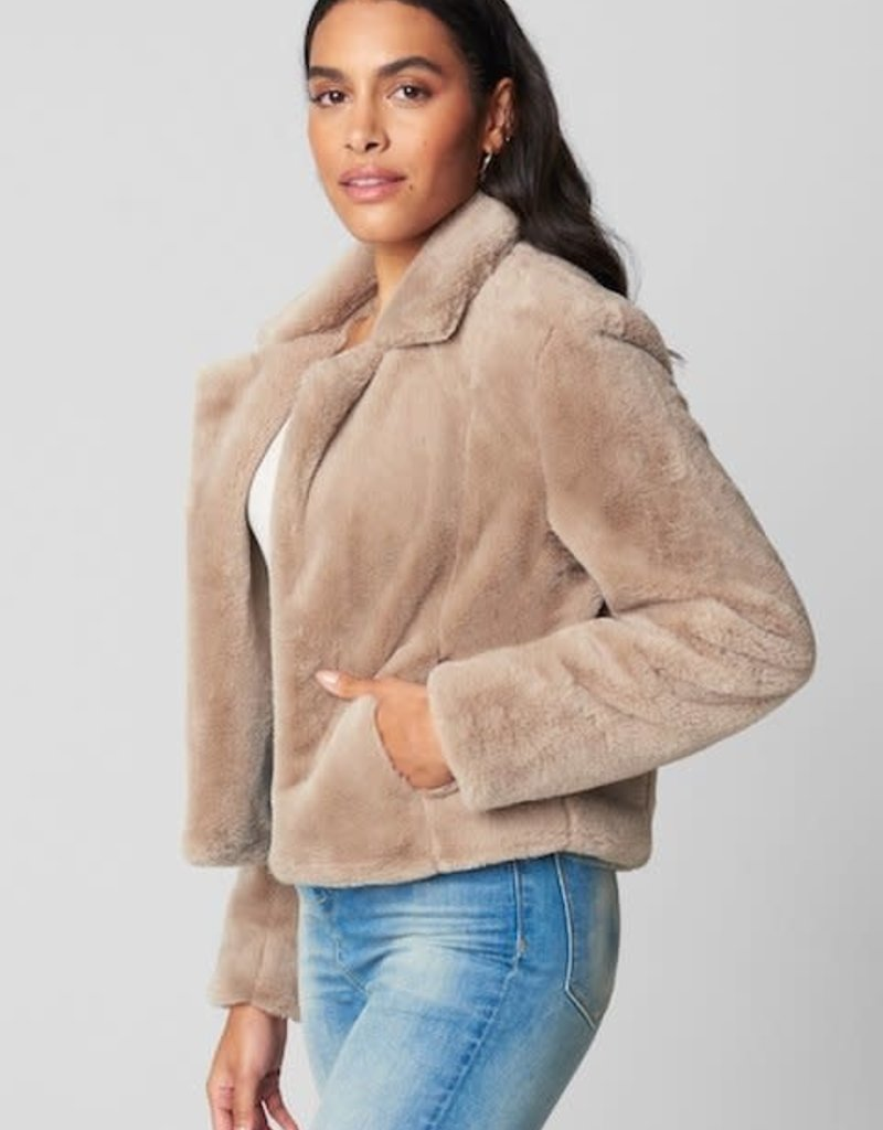 Blank NYC Frozen Daquiri Faux Fur Coat