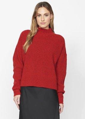 Sanctuary Fuzzy Mock Sweater