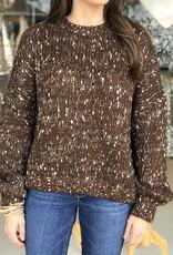 Elan Java Speckled Sweater