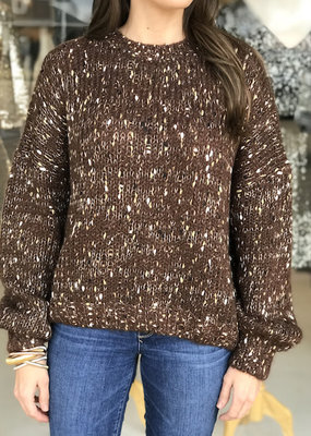 Elan Java Speckled Sweater