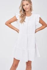 En Saison Mavi Babydoll Mini Dress