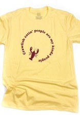 Crawfish Eating People Tee