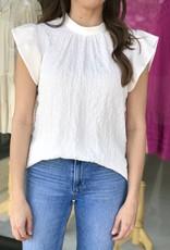 Libby Flutter Sleeve Top