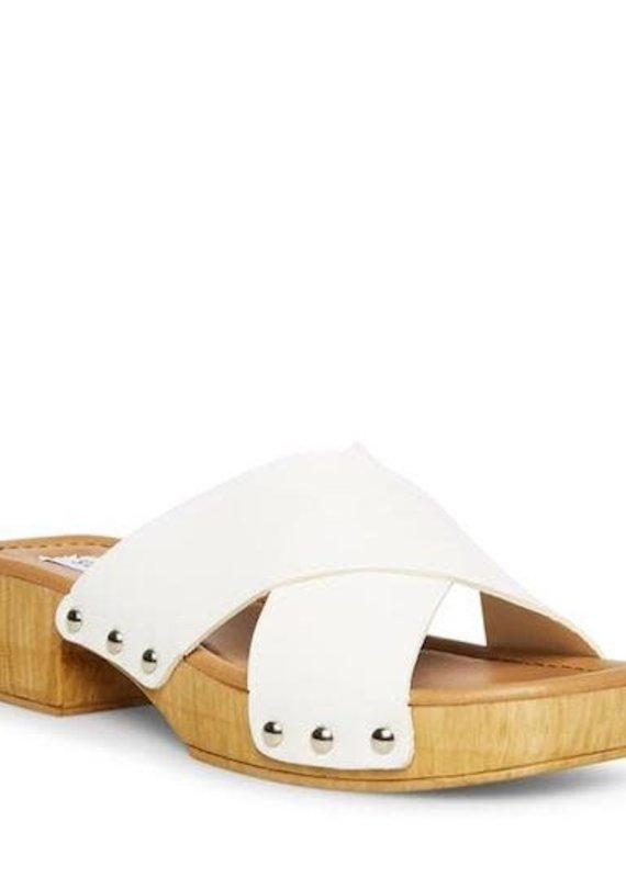Steve Madden Bryna White Leather