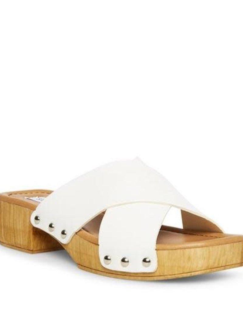 Steve Madden Bryna White Leather