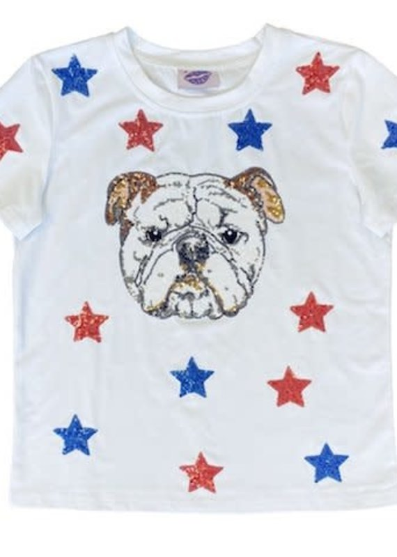 Sparkle City Star Struck LA Tech Bulldog Tee