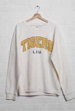 LSU Corded Crew Sweatshirt