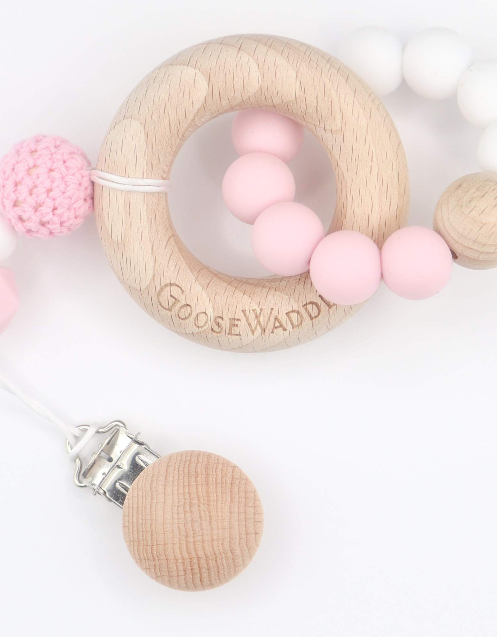 Goose Waddle Wooden Teether