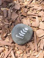 Stone Herb Marker