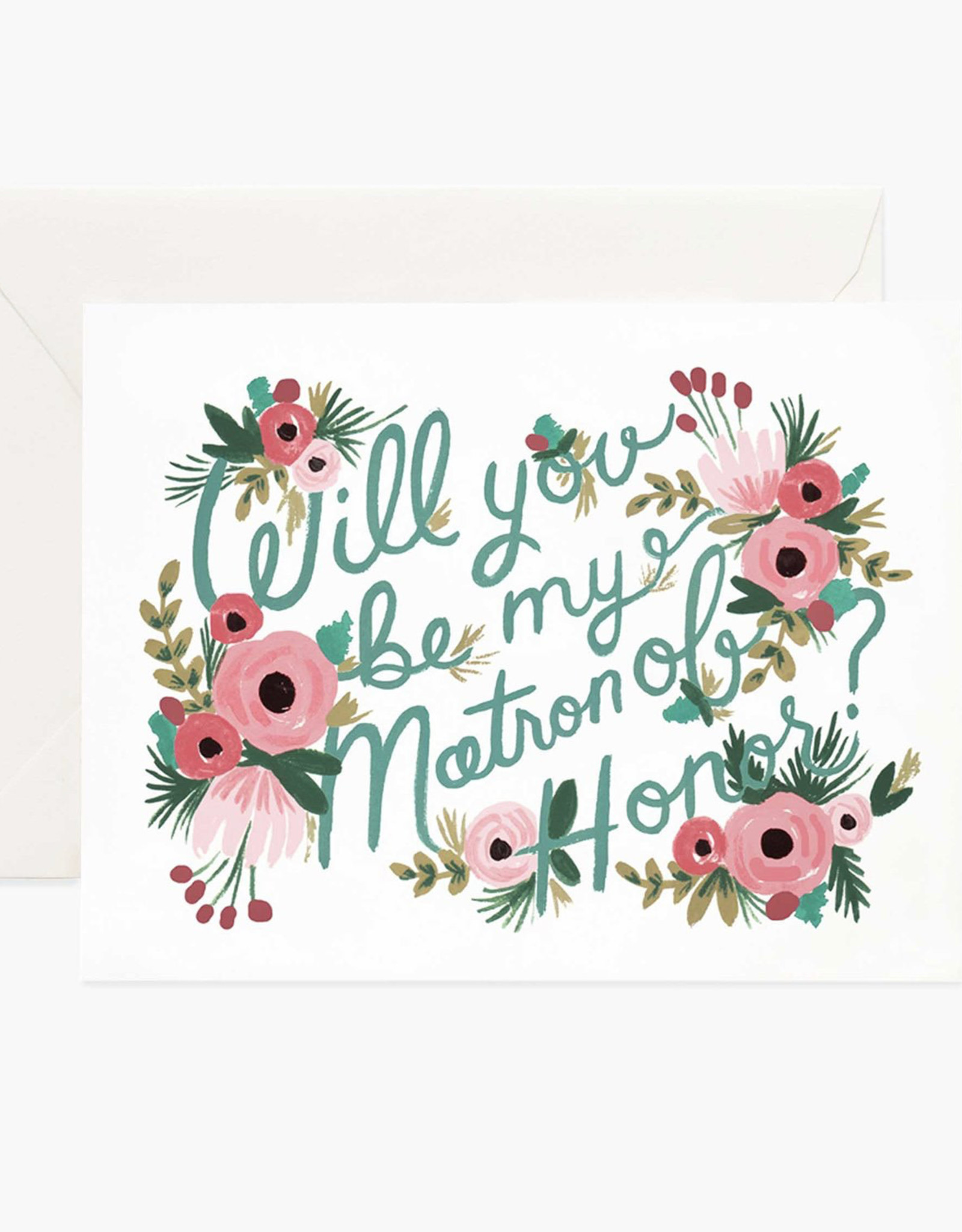 Will You Be My Matron of Honor Card