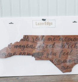 LazerEdge Wagon Wheel Wall Decor