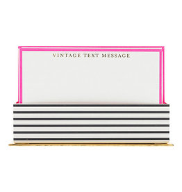 Vintage Text Message Boxed Stationary Set