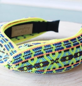 Tribal Neon Knot Headband