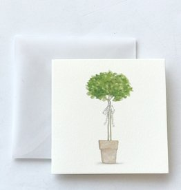 Karen Adams Topiary Mini Card