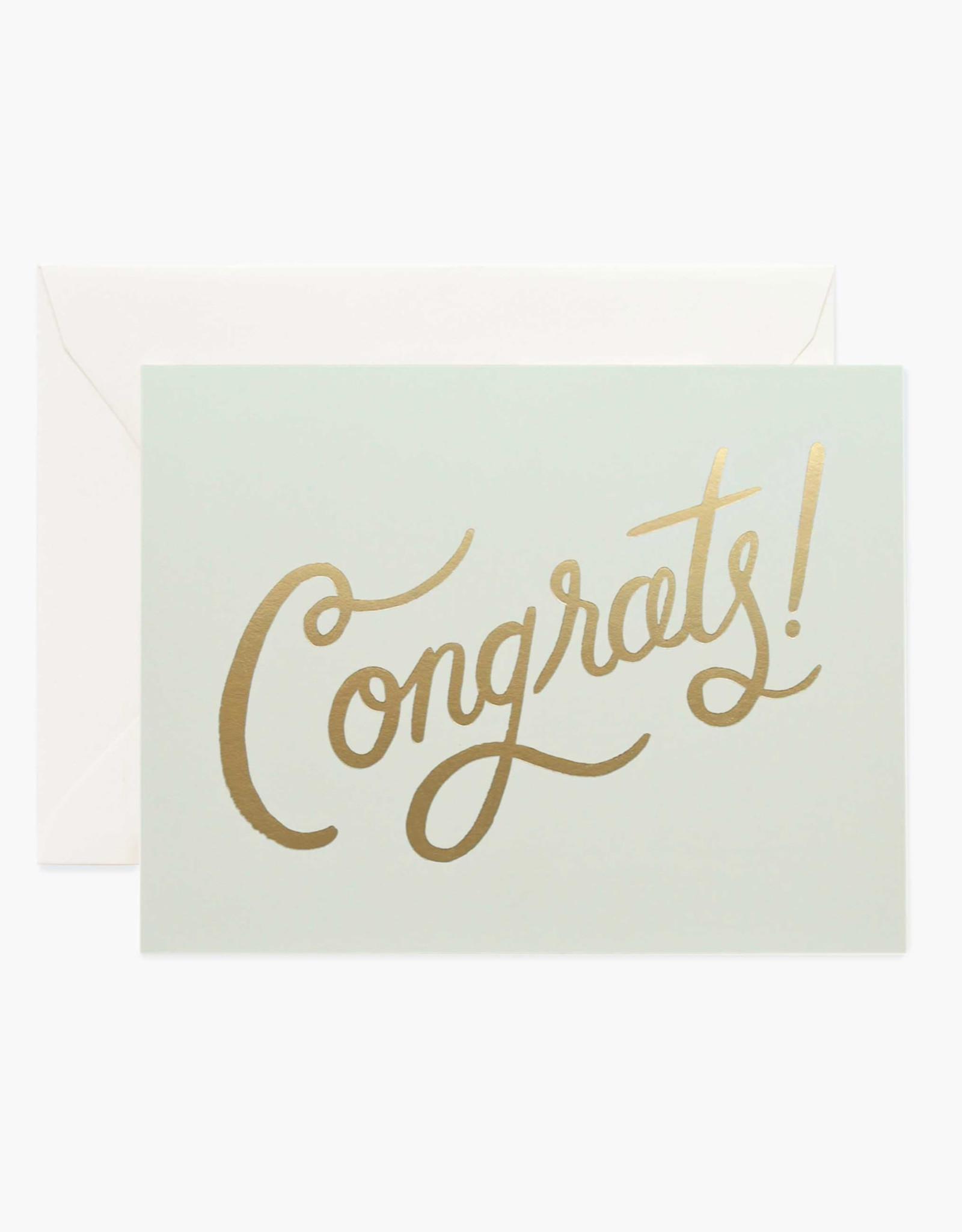 Timeless Congrats Card