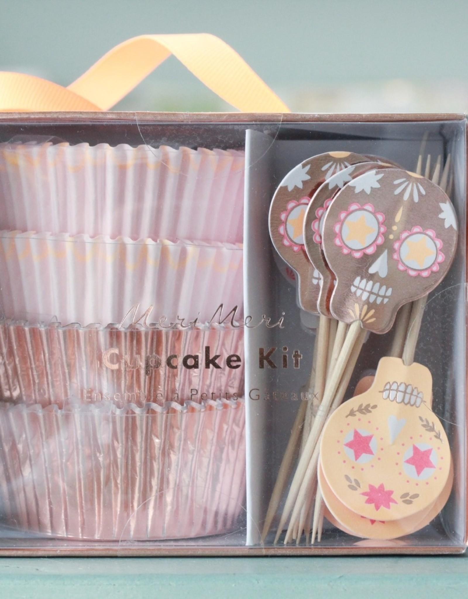 Sugar Skull Cupcake Kit