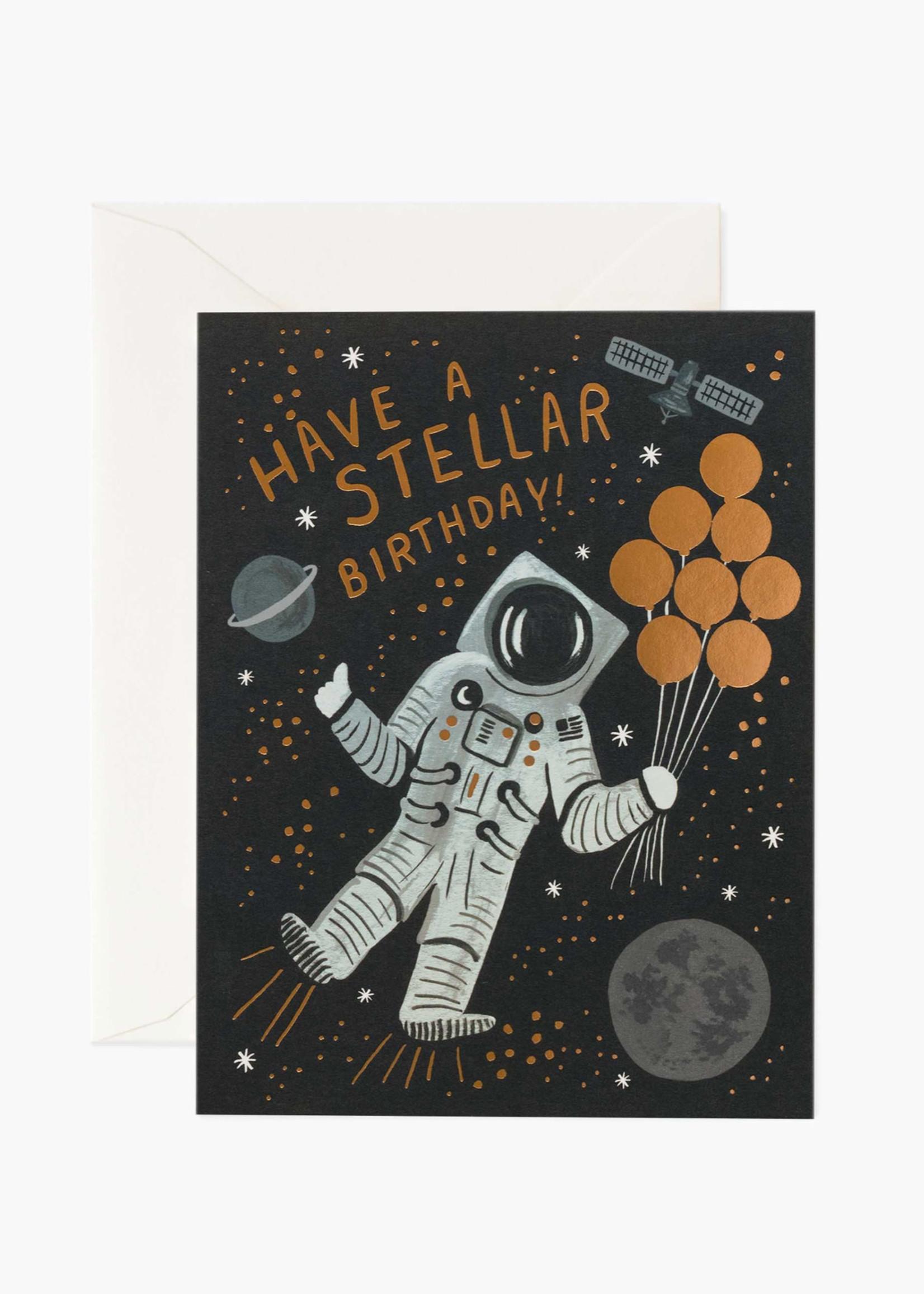 Stellar Birthday Card