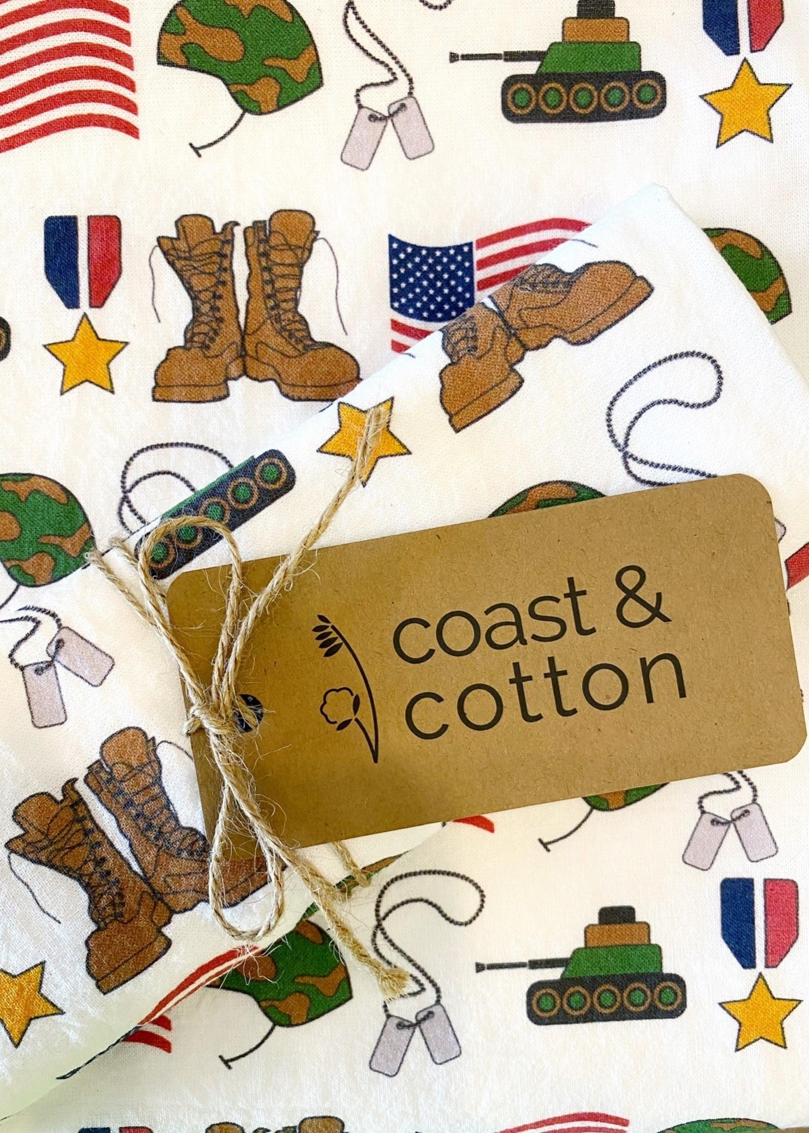 Soldier Tea Towel