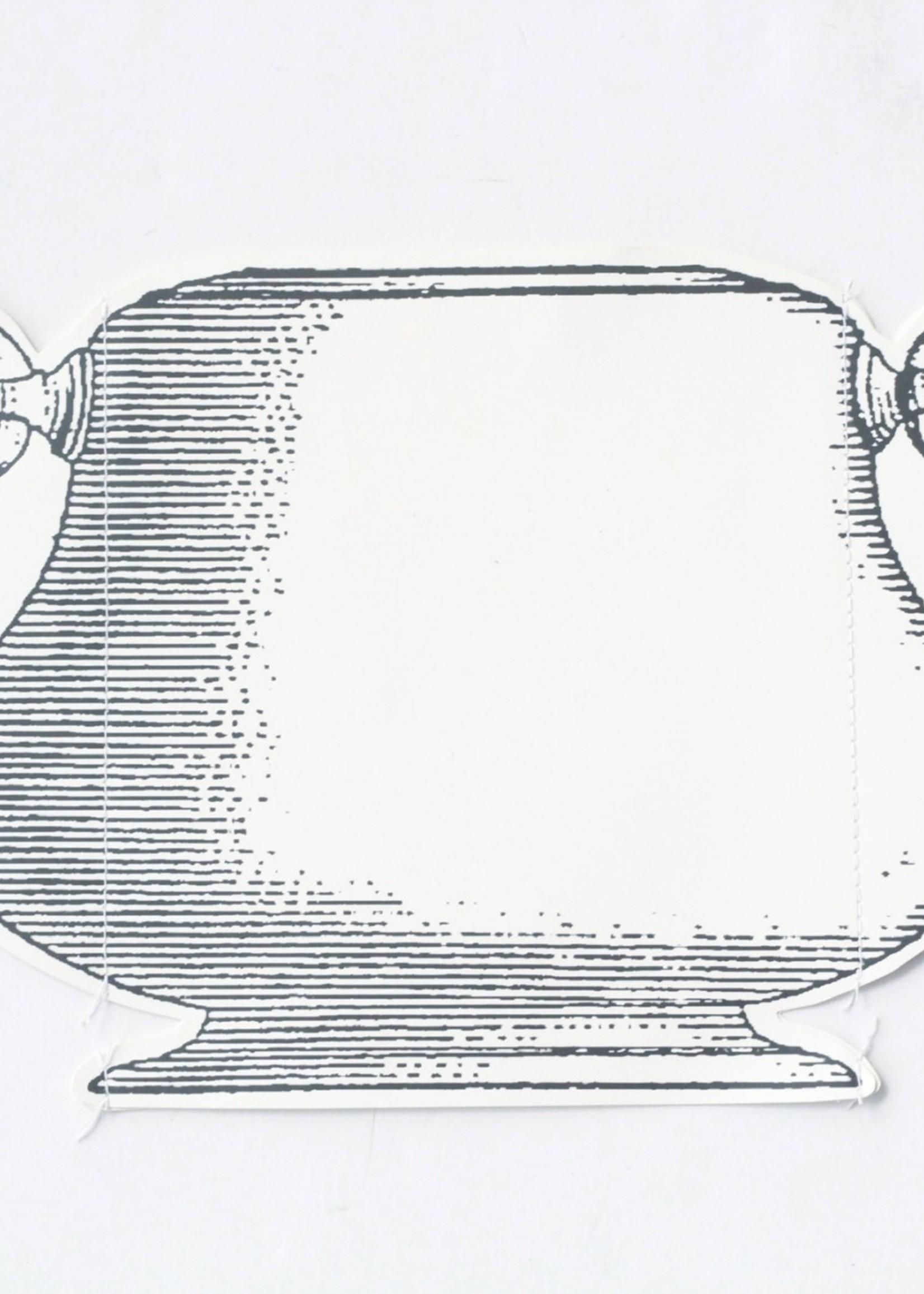 Small Paper Vase