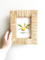 "Rattan Picture 4x6"" Frame"