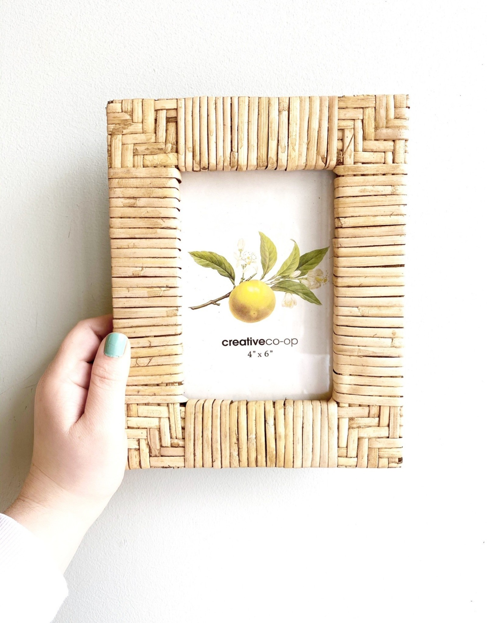 """Rattan Picture 4x6"""" Frame"""