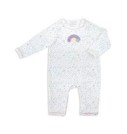 Rainbow Crochet Onesie