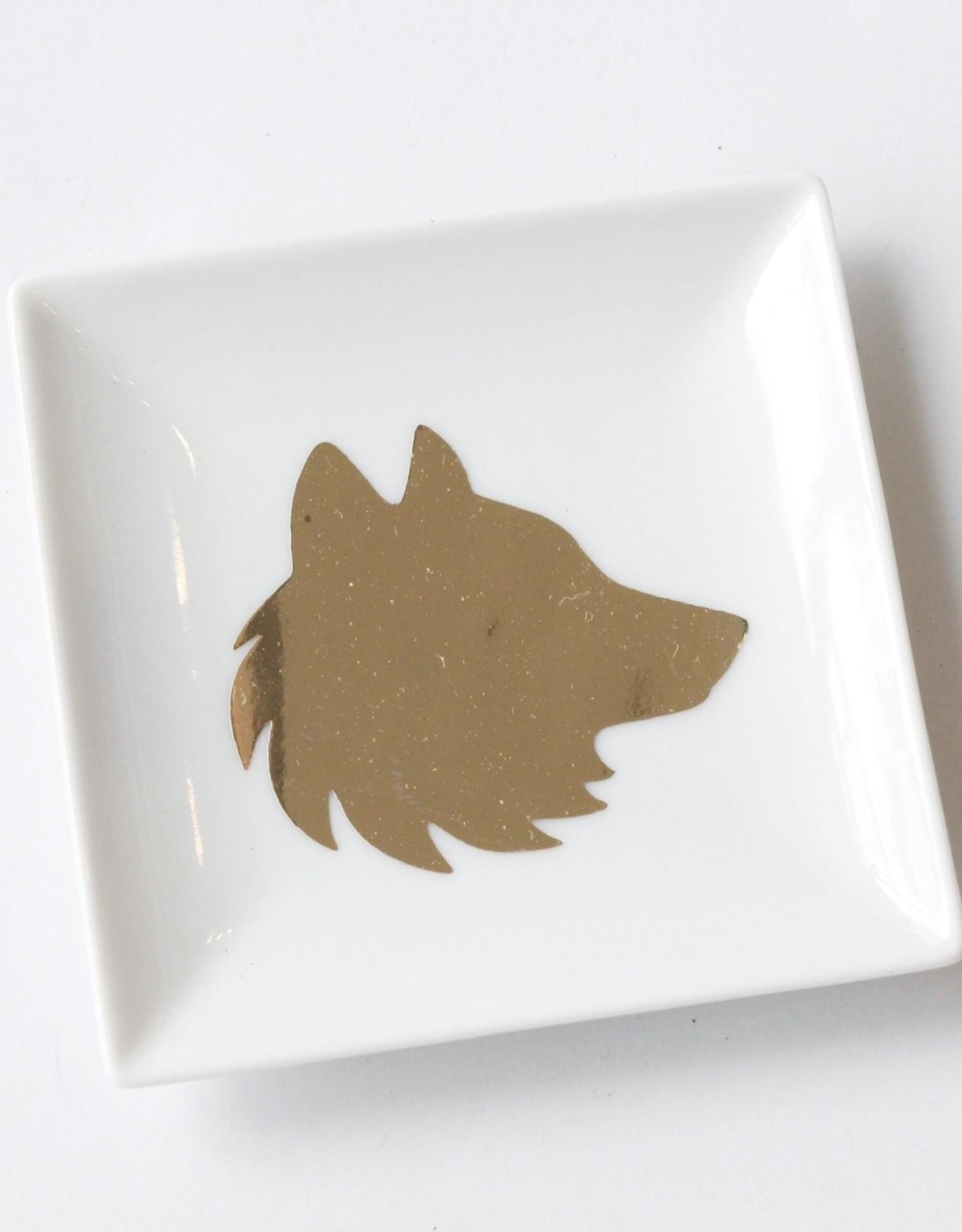 Pretty Penny Co Pretty Penny Co Wolf Trinket Dish