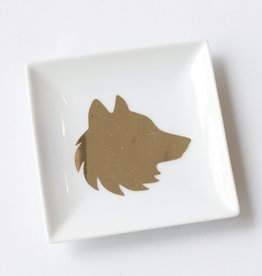 Pretty Penny Co Pretty Penny Co Wolf Trinket Dish