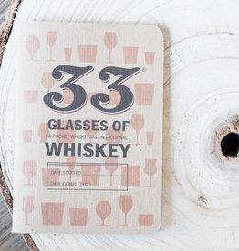 33 Glasses of Whiskey Log