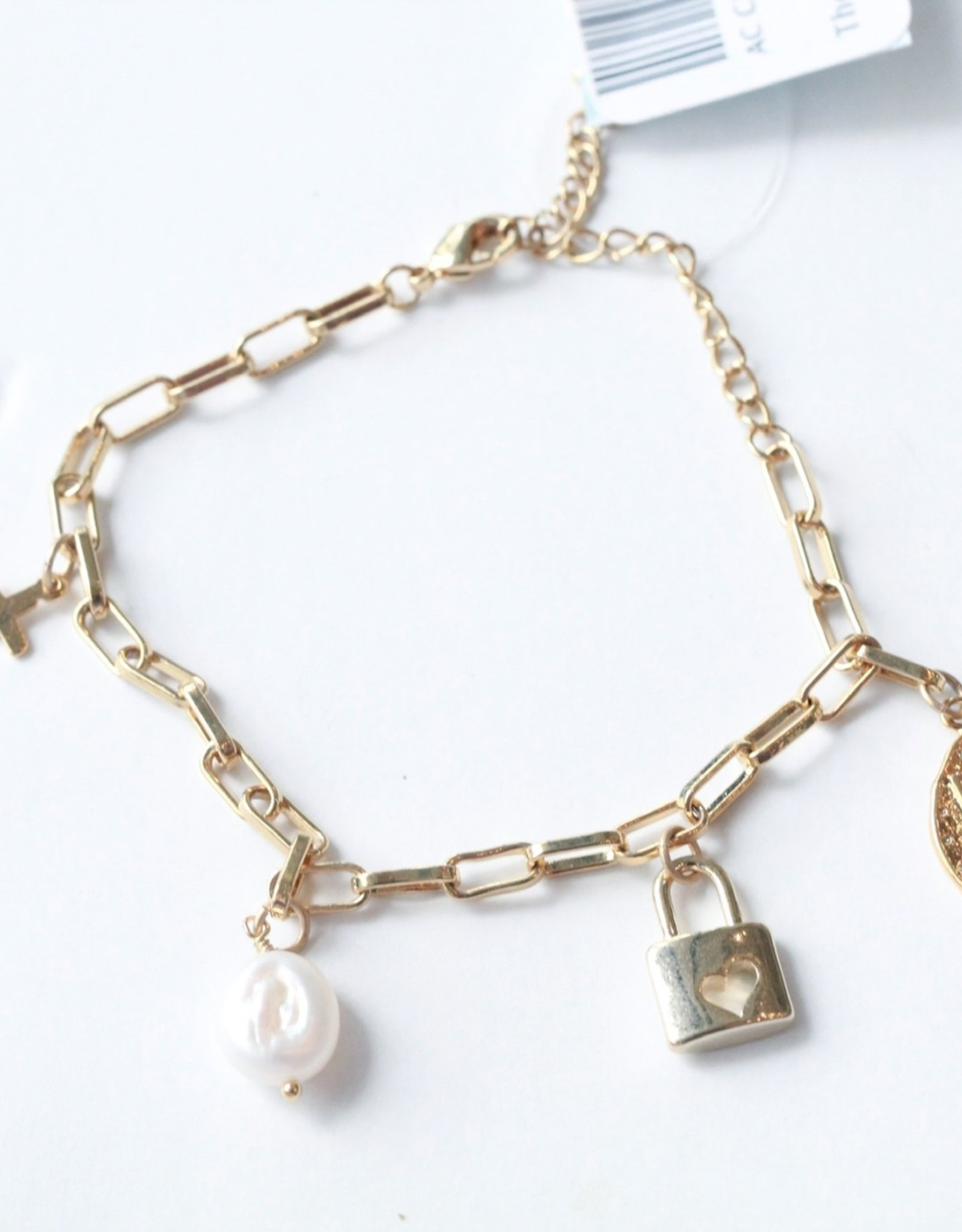 Allison Conway AC Bee Mine Charm Bracelet