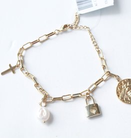 Allison Conway AC Bee Mine Charm Bracelet