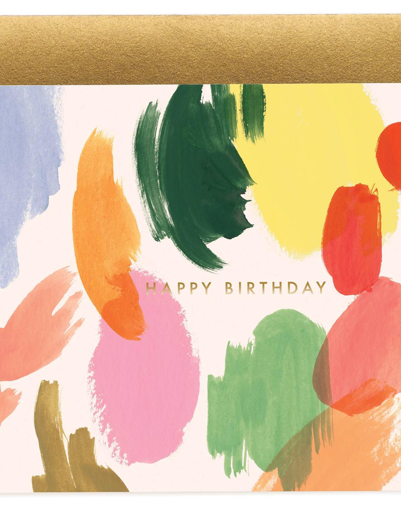 Palette Birthday Card