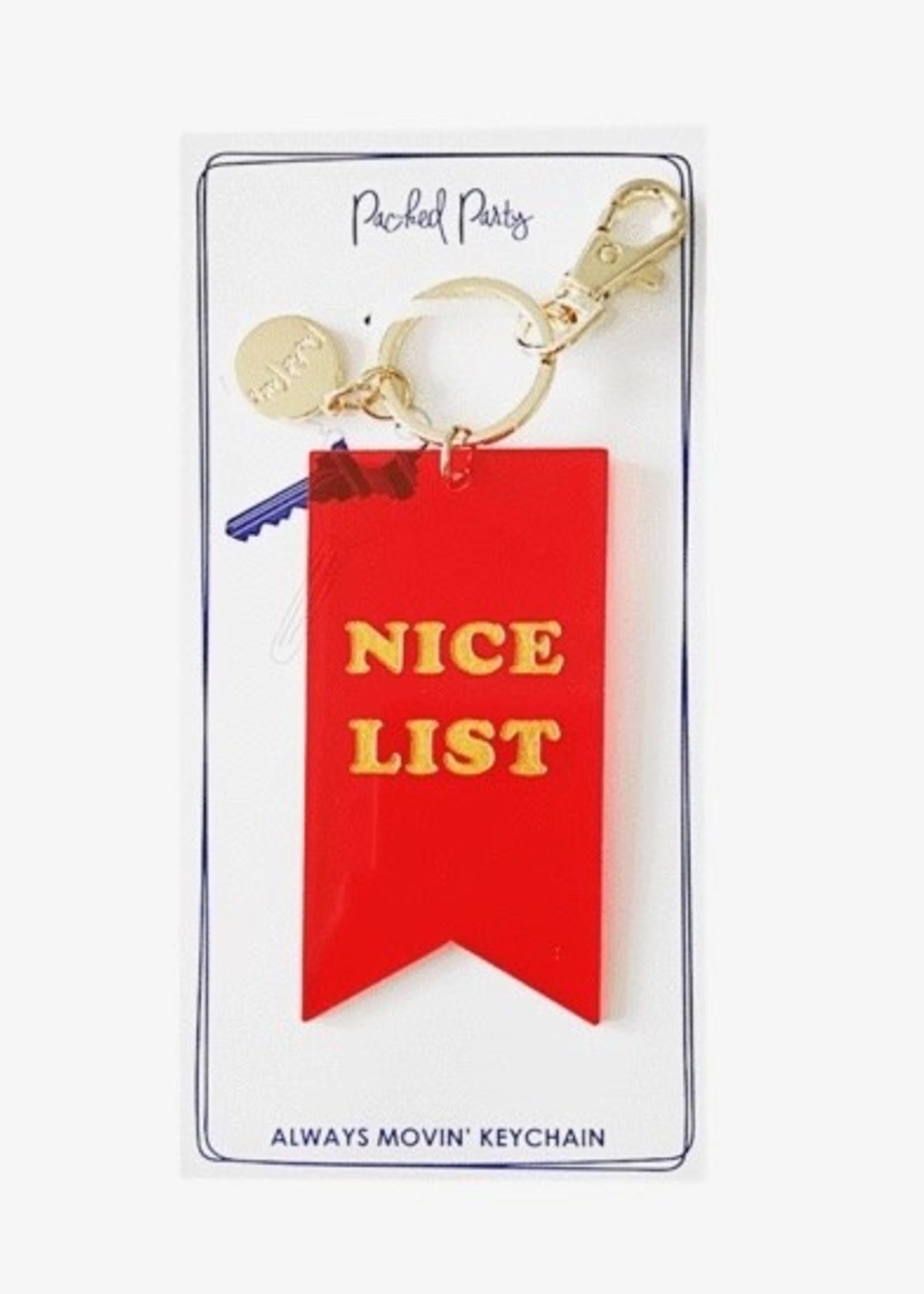 Nice Award Keychain