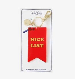 Packed Party Nice Award Keychain