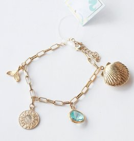 Allison Conway AC By The Sea Charm Bracelet